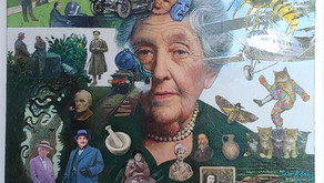 """COLLECT: Original Art: """"The Mystery of Agatha Christie"""""""