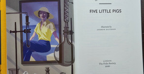 IN DEPTH REVIEW:  The Folio Society's Five Little Pigs