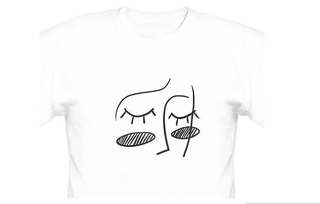 "Line-Art Design ""Dreamer"" (big face)"