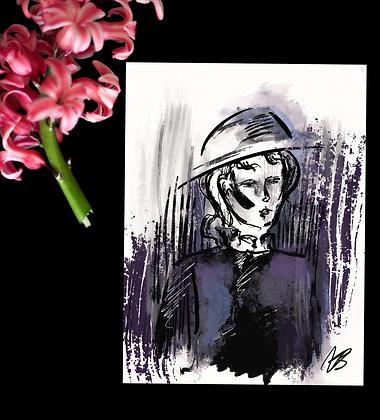 """A6 Art Print / Watercolour """"Nr. 003"""""""
