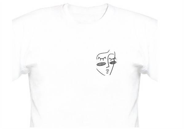 "Line-Art Design ""Dreamer"" (small face)"