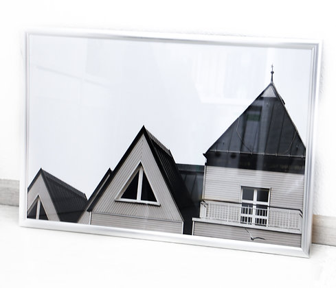 """PHOTO PRINT """"Architecture by the sea"""""""