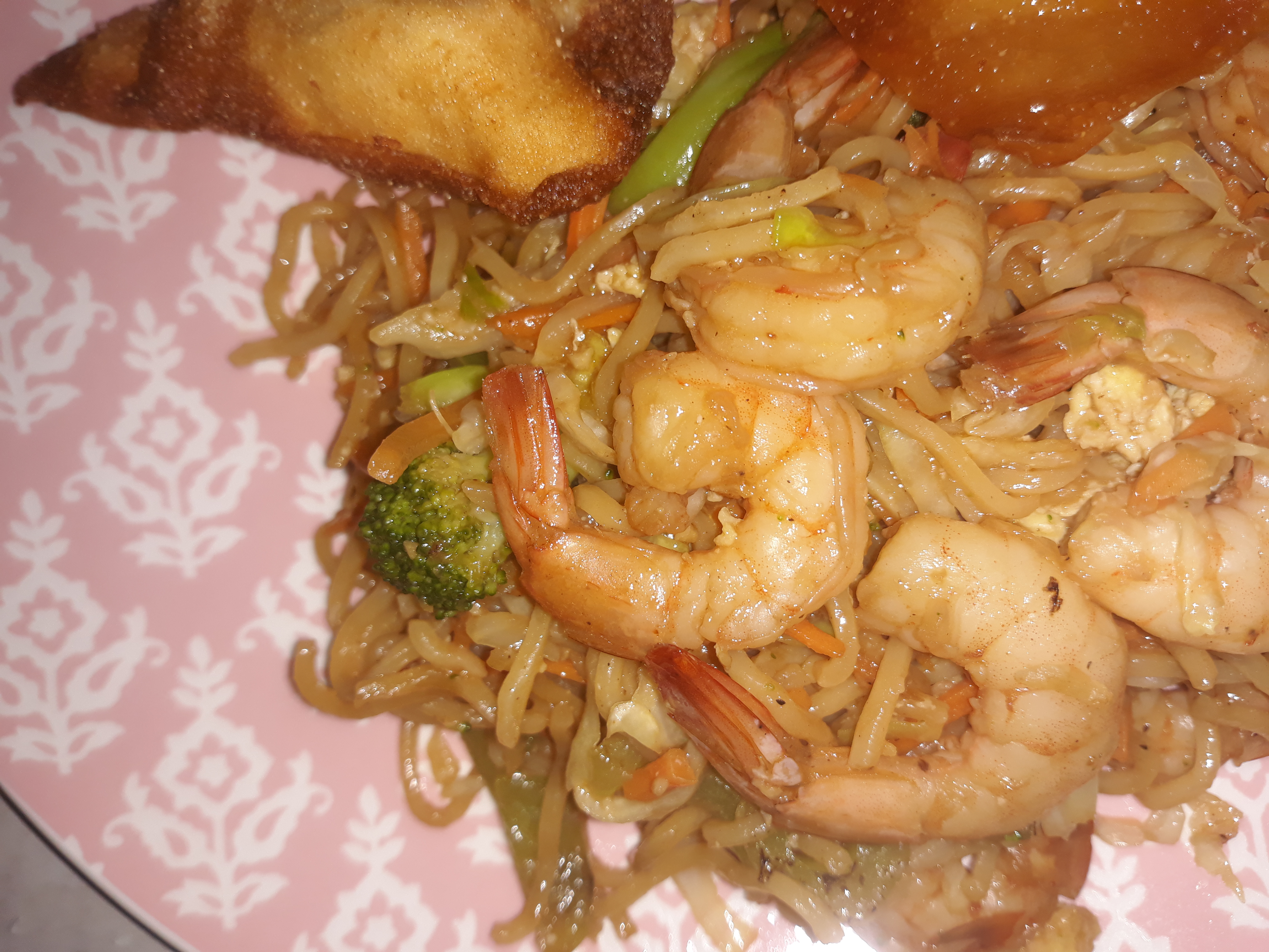 Chow Mein with Shrimp