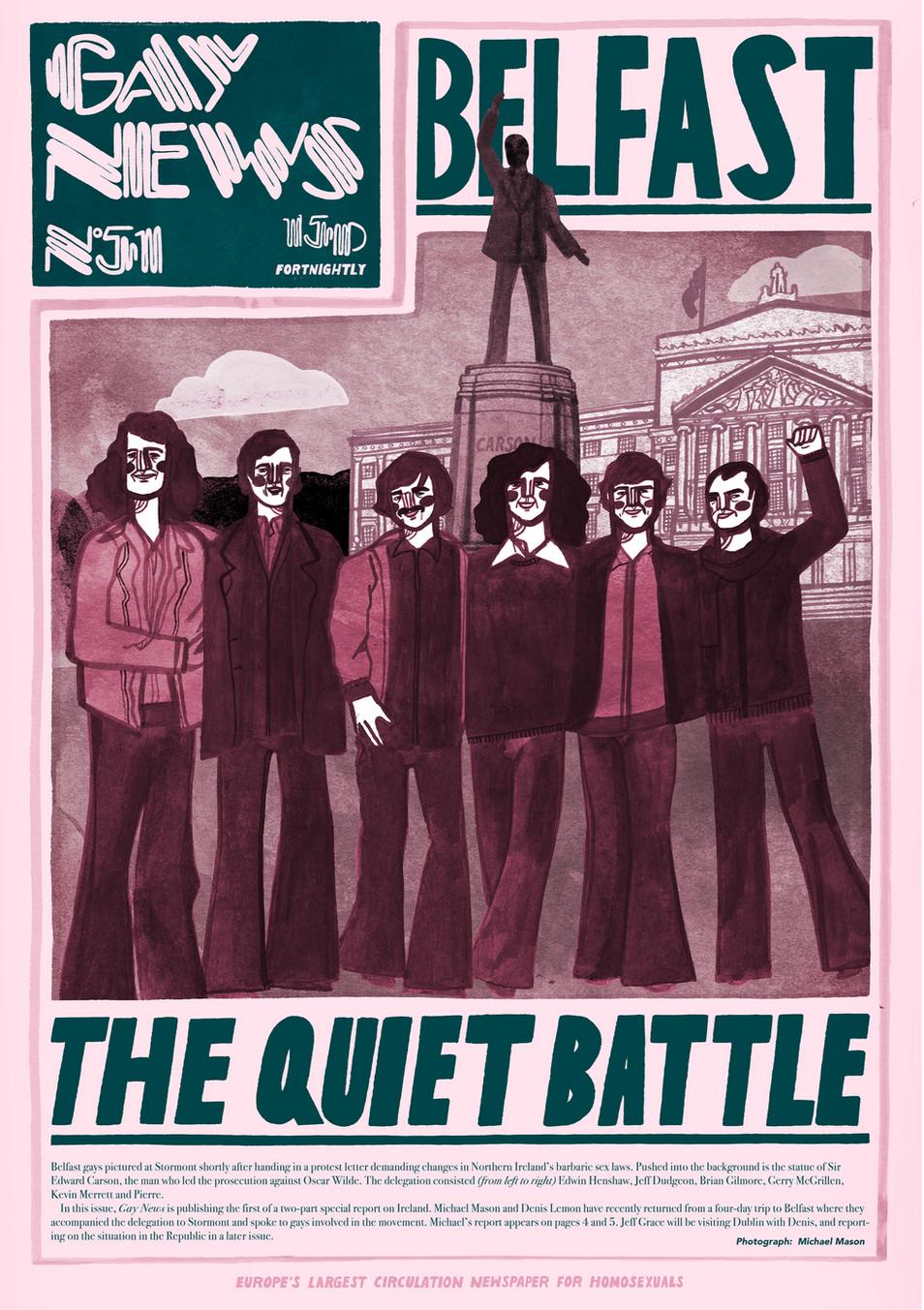 Gay News 1974 - Jamie Beard