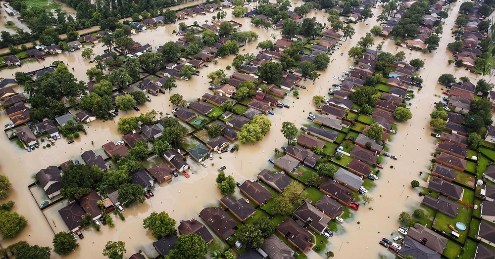 Hurricane Harvey in Houston, Tx