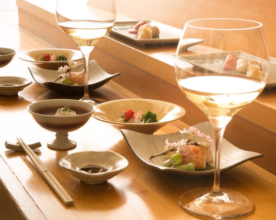 鮨孝ワイン