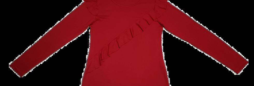 Blusa Viscose Vermelha