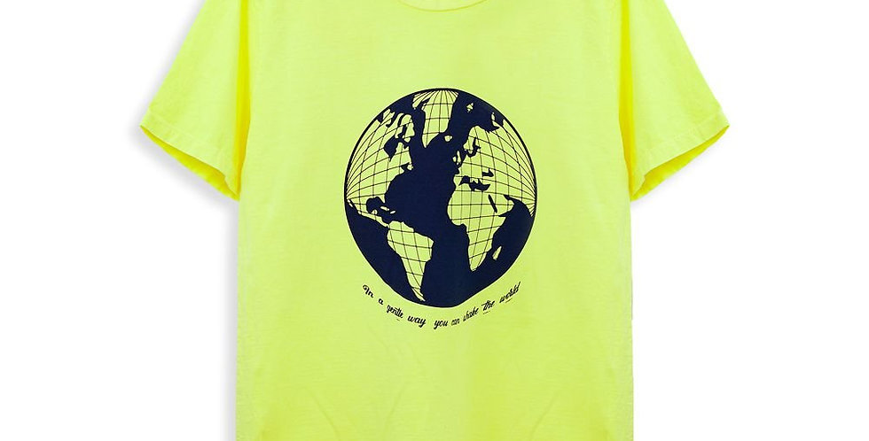 CAMISETA NEON WORLD