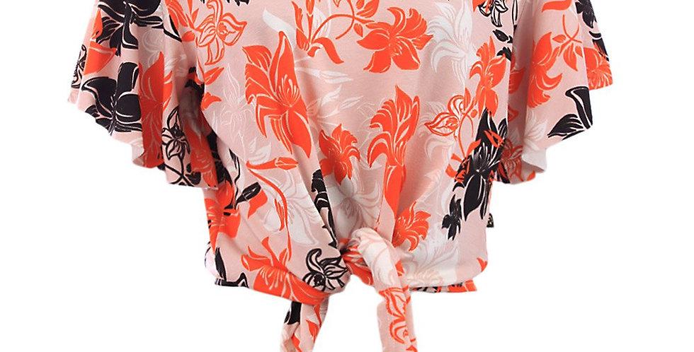 Frente da Blusa Cropped Feminino Florida