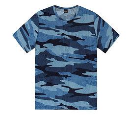 Camiseta Camuflada Masculina Rovitex
