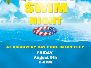 Rescheduled Family Swim Night