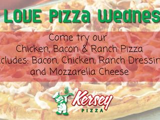 We LOVE Pizza Wednesday