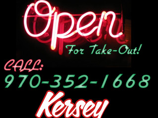 STILL OPEN FOR TAKE-OUT!