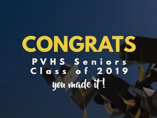 Congrats PVHS Seniors!