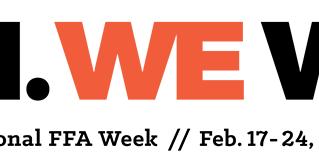 Celebrate National FFA Week.