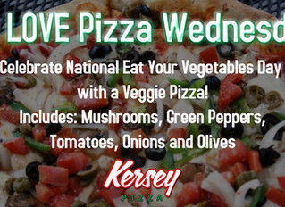 We LOVE Pizza Wednesday!