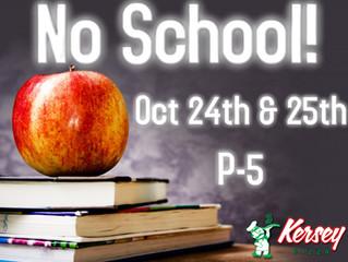 No School P-5!
