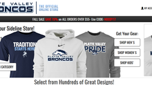 ​Give Bronco gear for a present this year!