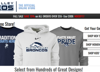Give Bronco gear for a present this year!
