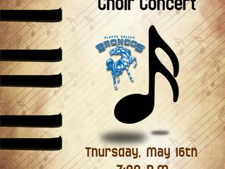 PVHS Choir Concert