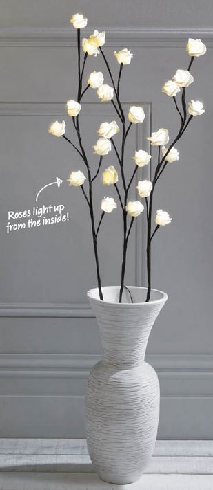 Kleeneze LED Rose Branches