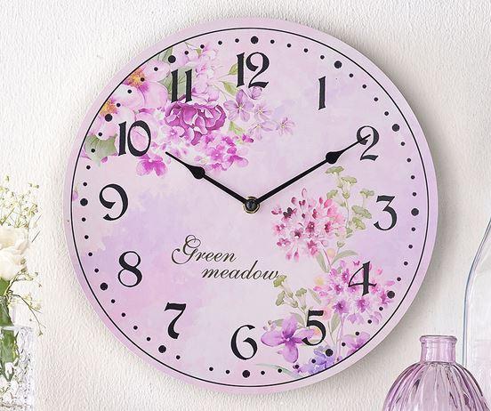 Kleeneze Green Meadow range Clock