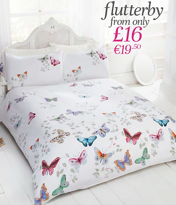 Flutterby Bedding Set