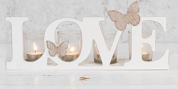 Love Tealight Holder