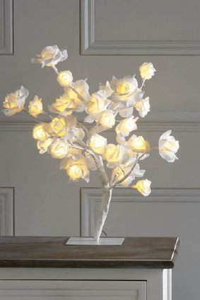 Kleeneze LED White Rose Tree