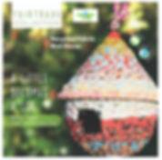 Fair Trade Fabric bird house Strictly Eco Friendly.JPG