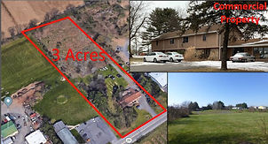 Multifamily Land Opportunity State College Pa.  State College Real Estate.  Zoned Commercial.  Near Penn State.  Busy road.