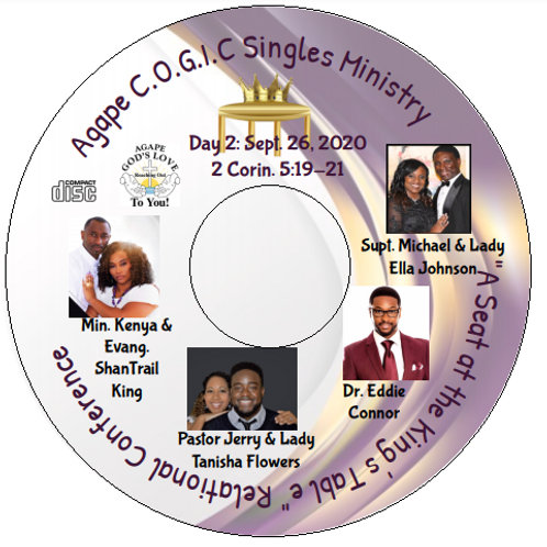 Singles Conference CD (Day 2): 9-26-20
