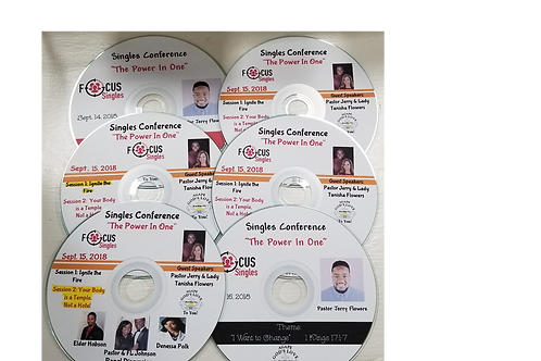 """Power in One"" Singles Conference CD (set of 6)"