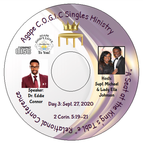 Singles Conference CD (Day 3): 9-27-20