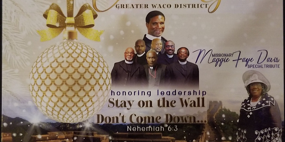 Greater Waco District Christmas Gala