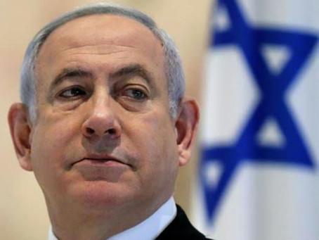 इसराइल का समर्थन करने वालो का नेतन्याहू ने किया धन्यवाद, नही लिया भारत का नाम