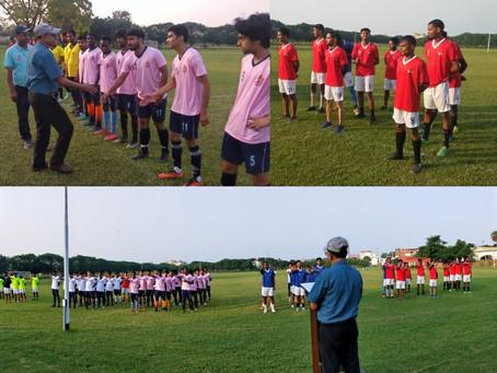फुटबॉल लीग में केएनएफसी ने मानसरोवर को 2-1 से  हराया