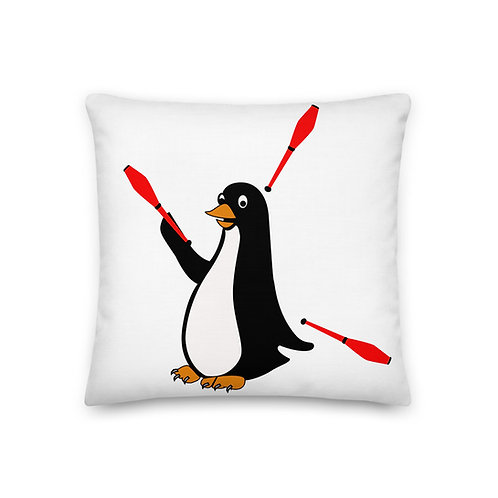 The Lazy Penguin Pillow