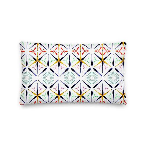 Club Art Pattern Pillow