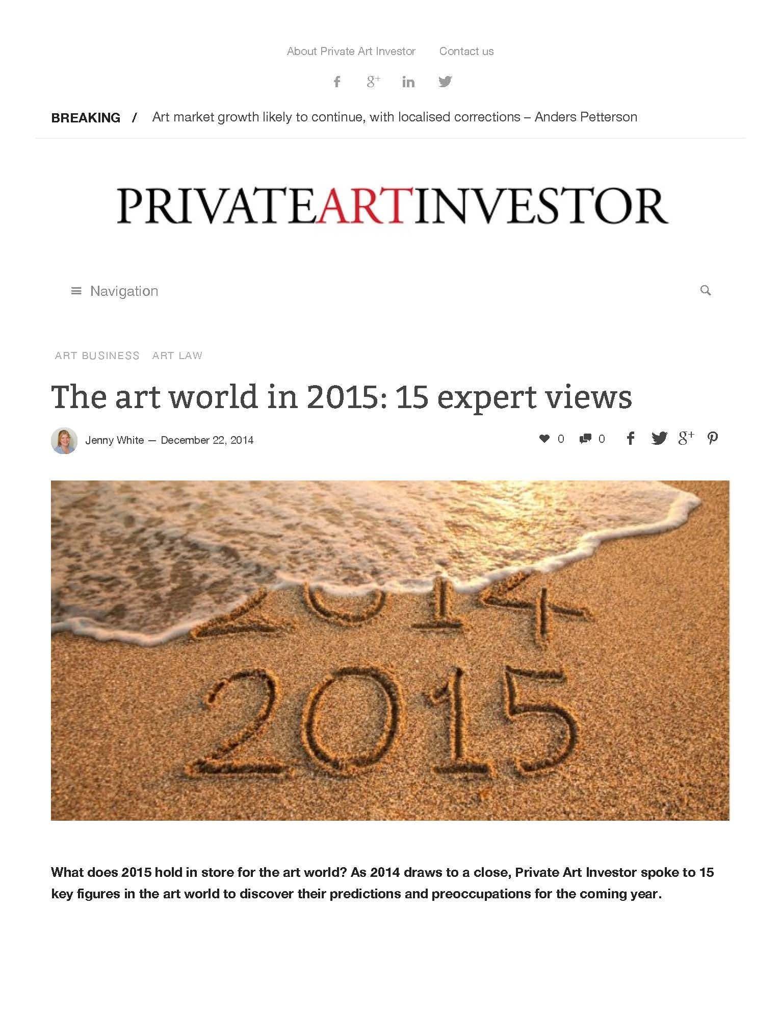 Private Art Investor