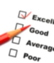 satisfaction survey showing marketing co