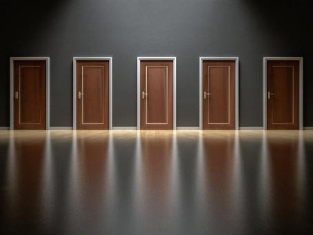 More than one door to look behind