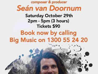 Sean van Doornum Songwriting Workshop