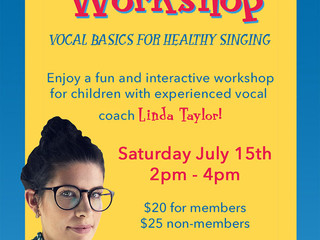 Linda Taylor Vocal Workshop