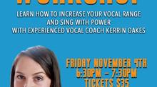 Kerrin Oakes Vocal Workshop