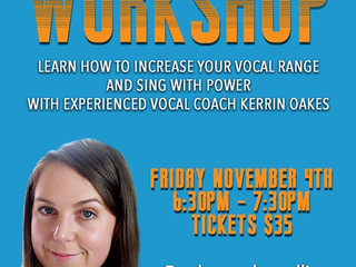 Kerrin Oakes Vocal Workshop