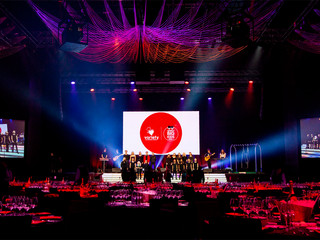 Big Music Choir Performs at the Variety Big Kids Ball