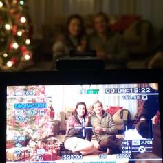 The Christmas Gift BTS