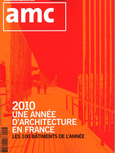 AMC Hors-série Une année d'architecture en France, 2010