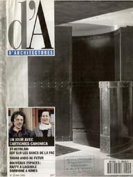"""D'A n°15, 1991 """"La filière Vosgienne, un jour avec Cartignies Canonica"""""""